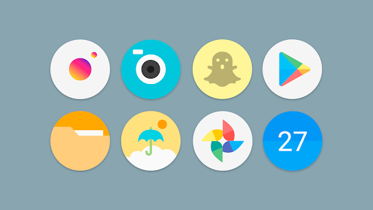 Flat Pie – Icon Pack 4.3 (MOD + APK) Download 2