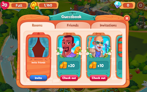 Delicious B&B: Match 3 game & Interactive story 1.10.11 screenshots 15