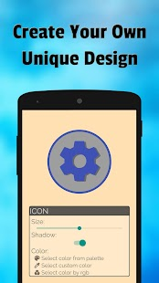 Iconic: logo maker, icon designer & button creator Screenshot