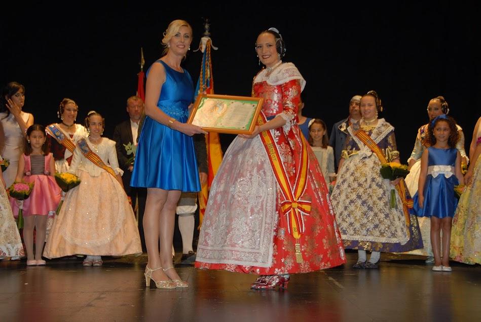 Nominación de las Falleras Mayores 2018 de la Federación Junta Fallera de Sagunto