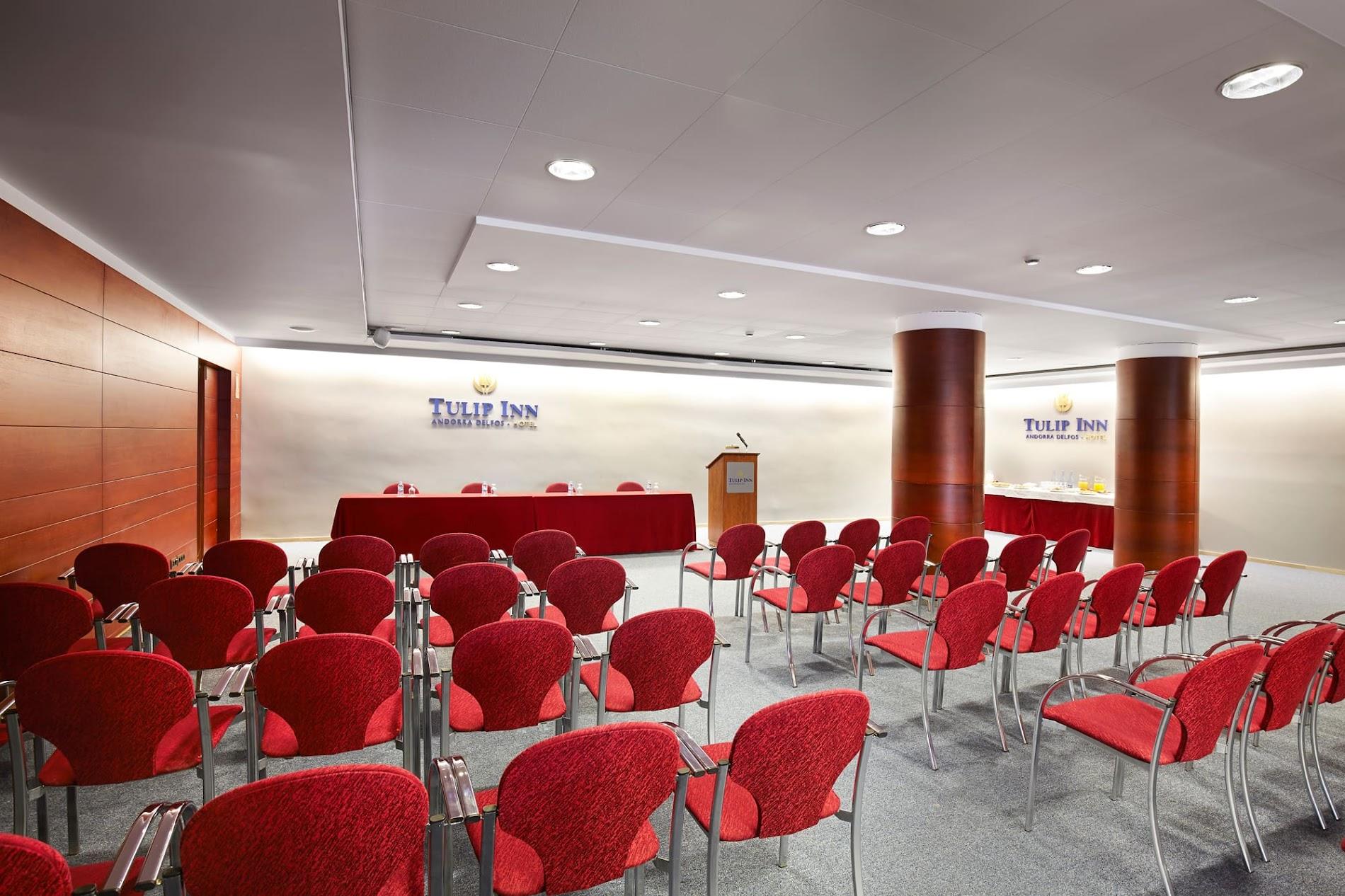 Sala para eventos y reuniones de empresas en el centro de Andorra