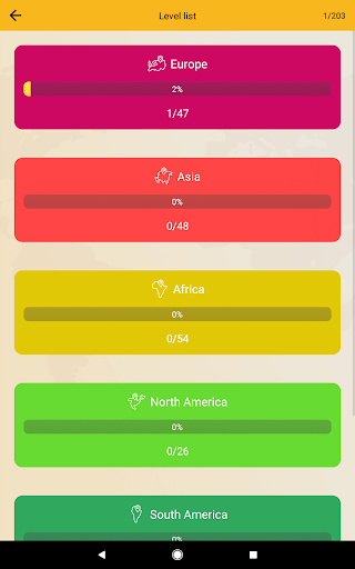World Geography Quiz: Countries, Maps, Capitals screenshots apkspray 23