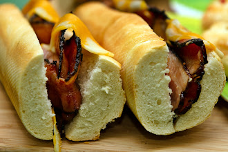 Photo: Bacon in baguette for brunch last Sunday, courtesy of my amazing hubby.  +FoodFriday curated by +Natty Netsuwan +Nicholas Ong +D. DeMonteverde #foodpornfriday