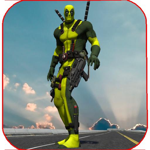 Rope Man VS Superhero Robot (game)