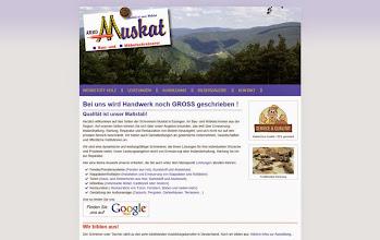 Photo: Referenz Webdesign: Schreinerei Muskat (HTML5/CSS3, responsive Design, WordPress)