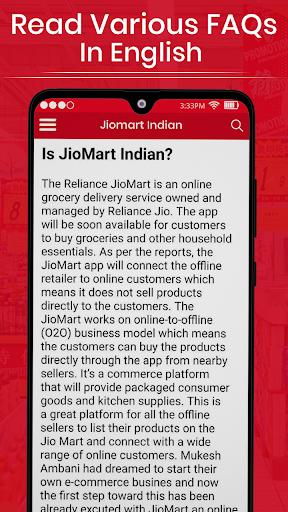 Jio Mart Grocery Kirana Store App Shopping Guide screenshot 2