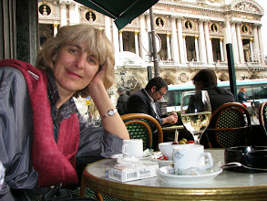 Photo: At the Opera, for an espresso and a glass of wine