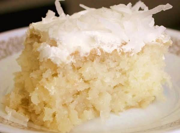 Easy & Quick Delicious Coconut Cake Recipe