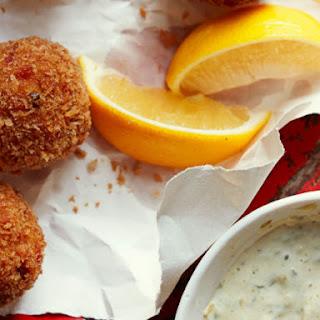 Crawfish Boudin Balls.