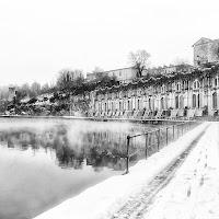 L'inverno lungo l'Adda di