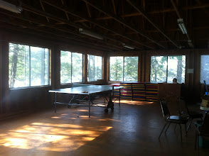 Photo: Upstairs of the Dining Hall