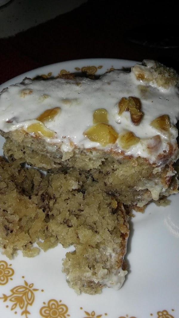 Steve's Moist Banana Cake W/ Banana Cream Cheese Recipe