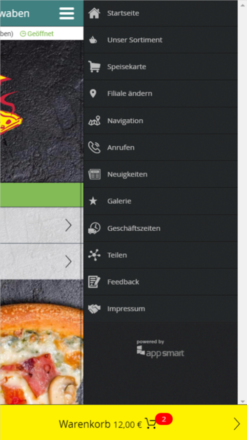 Punjabi Pizza Marktschwaben- screenshot