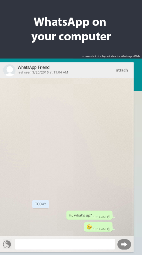 How to use WhatsApp on Tablet- screenshot