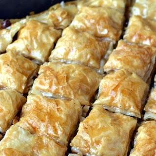 Homemade Turkish Baklava