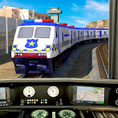 Tải Game Police Train Simulator 3D