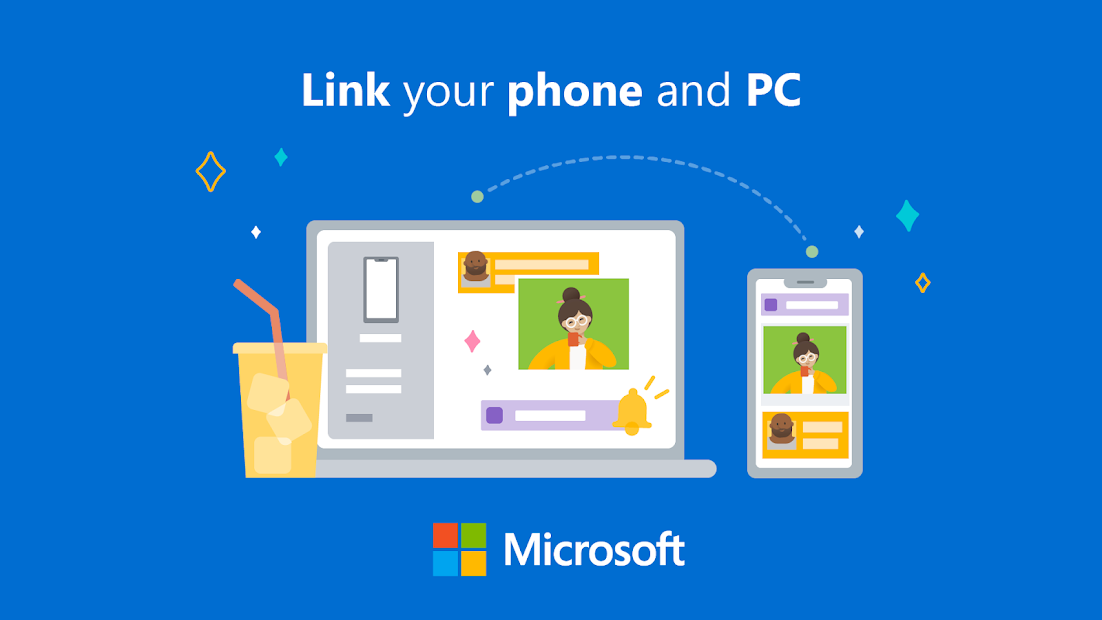 Your Phone Companion - Link to Windows Android App Screenshot