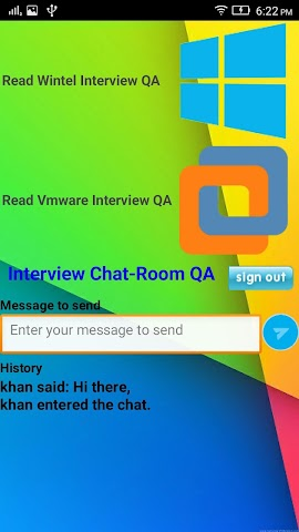 android vmware interview questions Screenshot 1