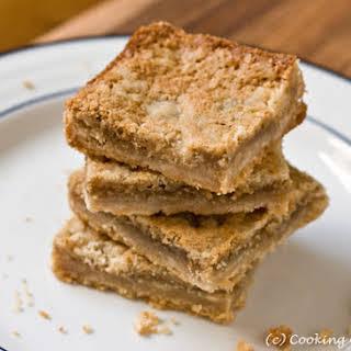 Peanut Butter Bars.