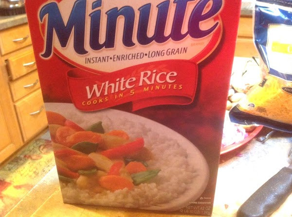 Cook minute maid rice according to directions on box, and add to sautéed veggies...
