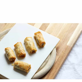 Turkish Sigara Borek with Minced Elk.