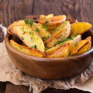 Boston Market Dill Potato Wedges.