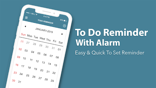 To Do Reminder With Alarm - To Do List, Task Alert 1.1 (Pro)