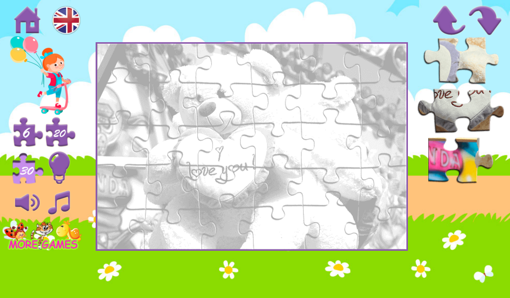 Puzzles toys- screenshot