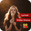 Lyrical Photo Video Status Maker with Music icon