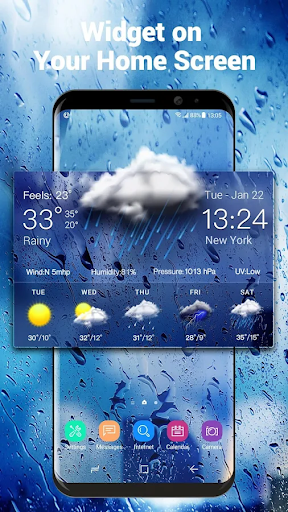 Daily weather forecast widget☂ for PC