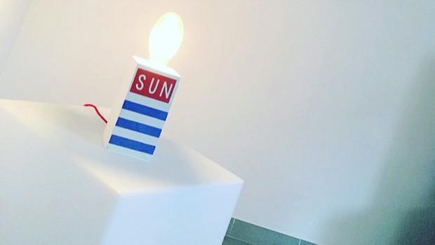 Lampe béton collection limité 2016-2017 marinière