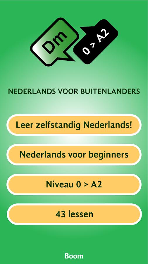 Nederlands leren (gratis) - Android-apps op Google Play: https://play.google.com/store/apps/details?id=nl.uitgeverijboom.DM...