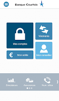 Screenshot of Banque Courtois