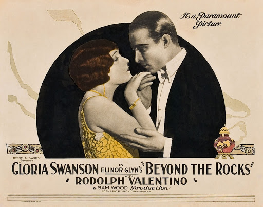 Rudolph Valentino in Beyond the Rocks