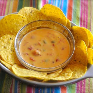 Rotel Cheese Dip.