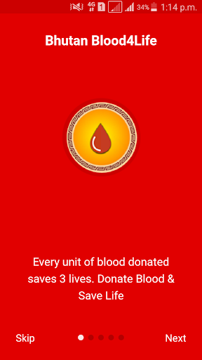 Bhutan Blood4Life screenshot 4