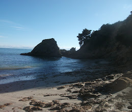 Photo: Looking towards the tip of Puatiti Point