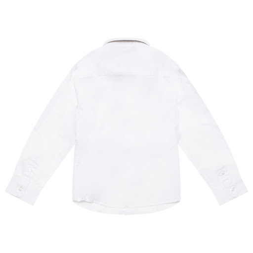 Thumbnail images of Emporio Armani Boys Logo Embroidered Shirt