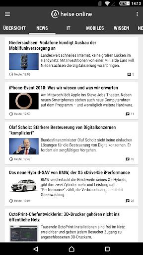 heise online - News 3.4.2 screenshots 18