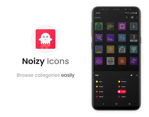 Noizy - Icon Pack screenshot 4