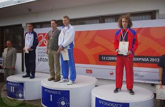 Photo: Finał Ogólnopolskiej Olimpiady Młodzieży (lipiec 2013) absolwent PG 20 - G.Strelczuk - brązowy medal