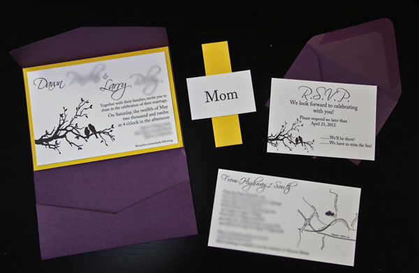 diy winter wedding invitation ideas - new wedding, Wedding invitations