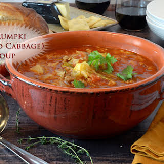 Golumpki (Stuffed Cabbage) Soup.