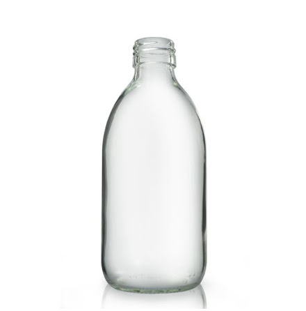 Glasflaska 300 ml - klar