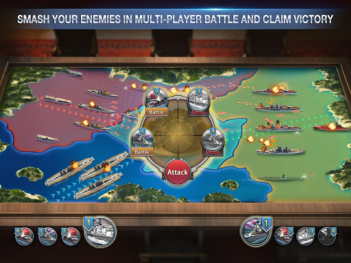 Battleship Empire: WW2 Naval Battles and Warships 1.0.2 gameplay   by HackJr.Pw 6