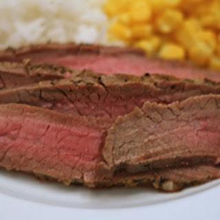 Honey Garlic Chipotle Flank Steak