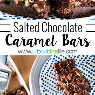 Salted Chocolate-Caramel Bars