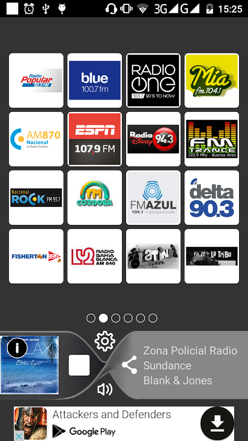 Radio FM Argentina Online- screenshot