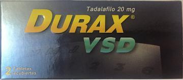 Durax VSD Tadalafilo 20