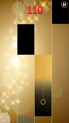 Gold Piano Tiles - screenshot